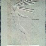 エンボス版画―茅ヶ崎市美術館企画個展⑧