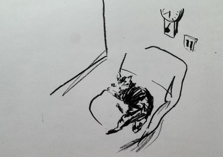 おーくん・あきらの絵本「GATITO」ページ14
