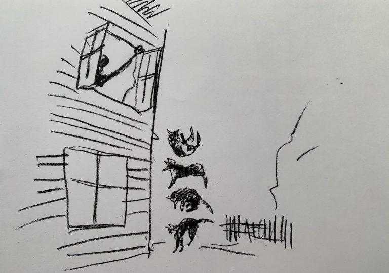 おーくん・あきらの絵本「GATITO」ページ28