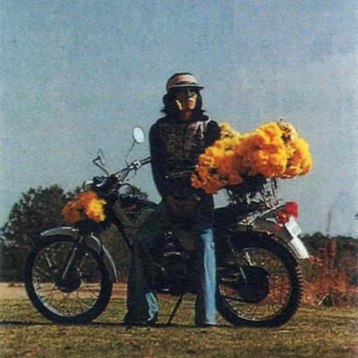 おーくん・あきらが依頼されたオートバイメーカーポスターのプレゼンビジュアル(挿入画像)